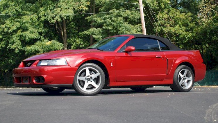 Redfire red 2003 ford mustang svt cobra convertible firered 2003 cobra convertible sciox Images