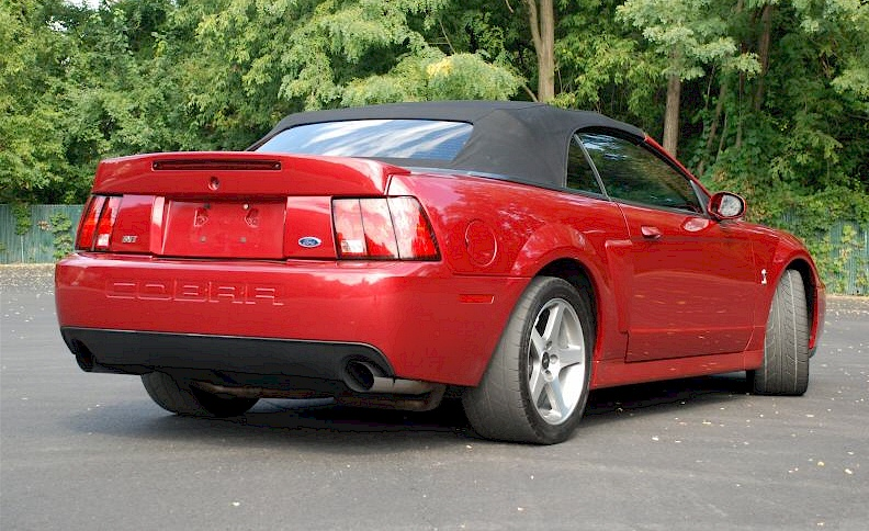Redfire red 2003 ford mustang svt cobra convertible see other pictures of this car firered 2003 cobra convertible sciox Images