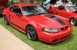 Torch Red 2003 Mustang Mach 1 Coupe