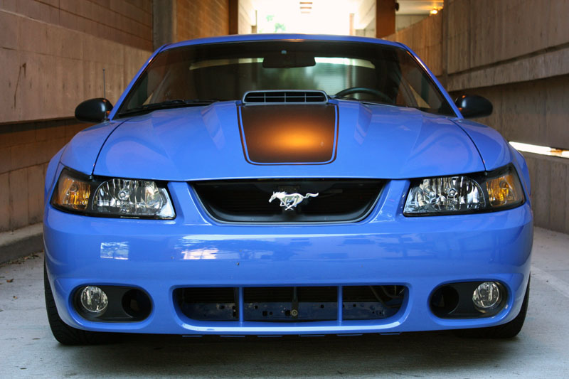 Azure Blue 2003 Mach 1 Ford Mustang Coupe Mustangattitude Com Mobile