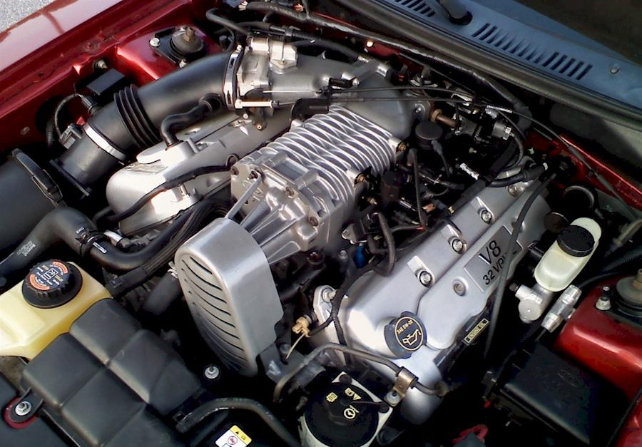 Mustang Terminator Cobra Motor