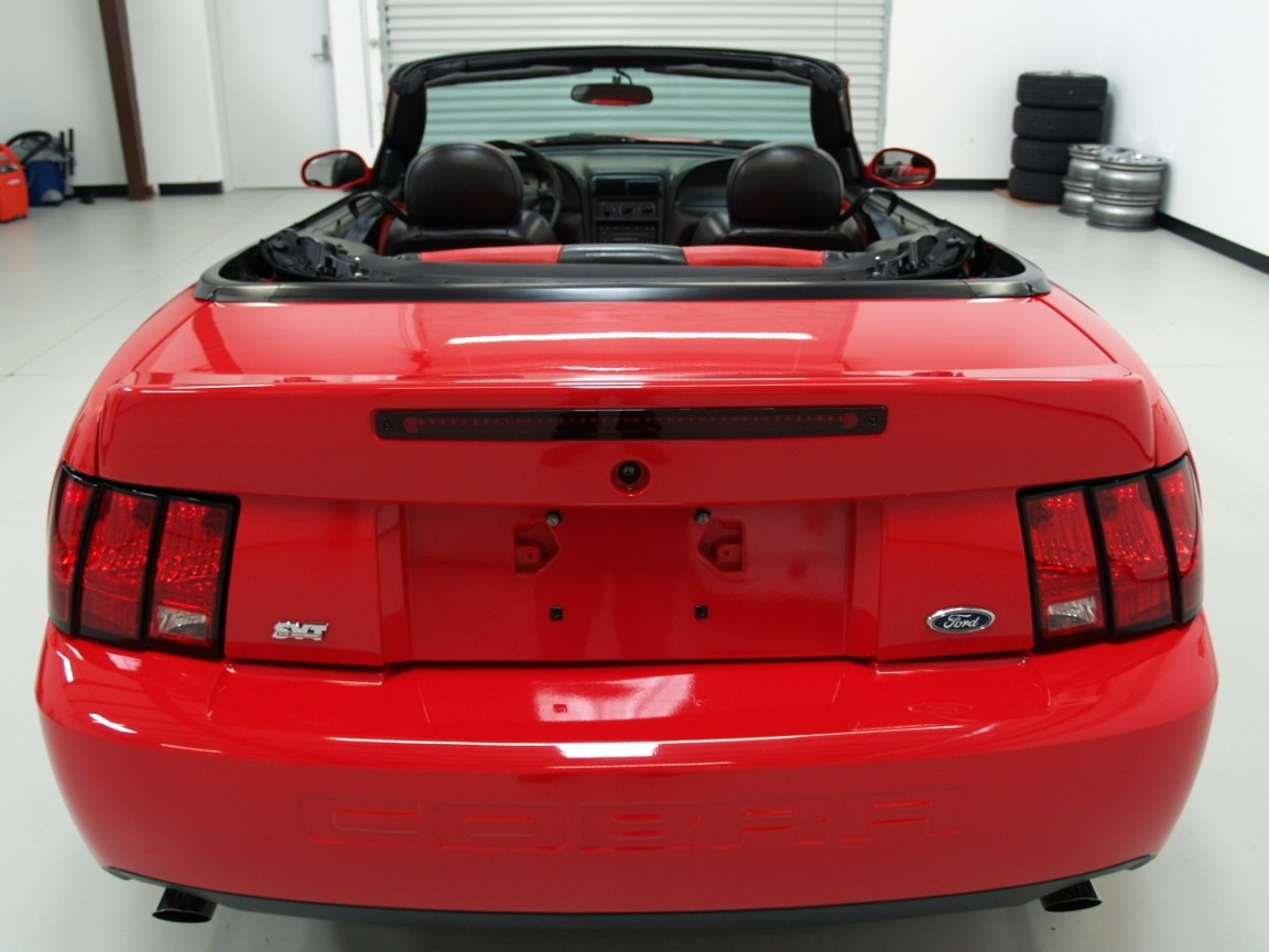 Torch red 2003 ford mustang svt cobra 10th anniversary convertible torch red 2003 cobra convertible sciox Images
