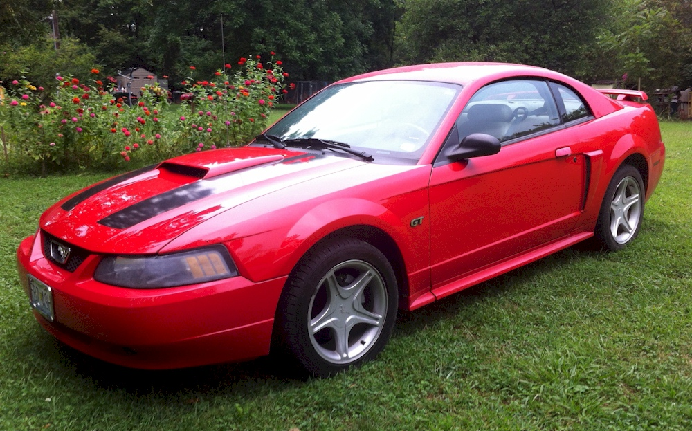 Torch Red 2003 Mustang GT