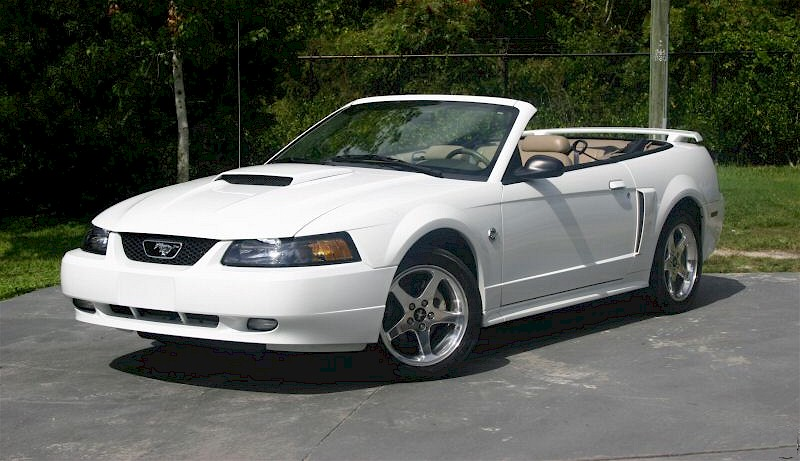 oxford white 2004 ford mustang gt convertible. Black Bedroom Furniture Sets. Home Design Ideas