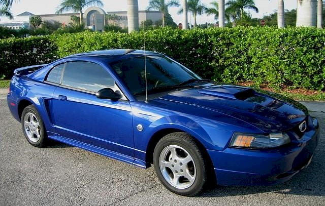 Sonic Blue 2004 Ford Mustang Coupe - MustangAttitude.com ...