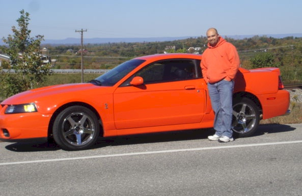 Competition Orange 2004 Ford Mustang Svt Cobra Coupe