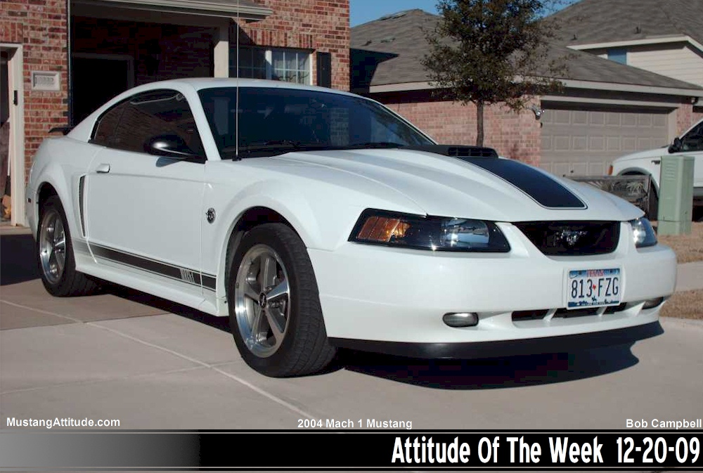 Purchase used 2004 MACH 1 40TH ANNIVERSARY 1 OF 179 WHITE AUTO ...