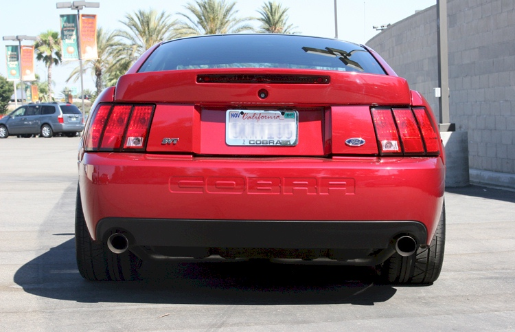 Redfire Red 2004 Ford Mustang Svt Cobra Coupe