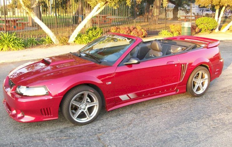 redfire red 2004 saleen s281 ford mustang convertible photo detail. Black Bedroom Furniture Sets. Home Design Ideas