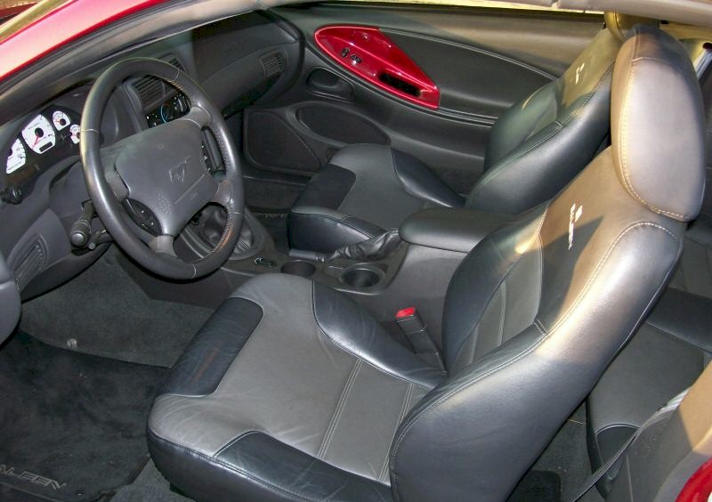 2004 Mustang Saleen Interior