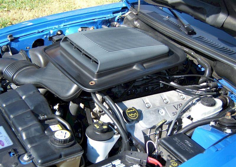 Azure Blue 2004 Mach 1 40th Anniversary Edition Ford
