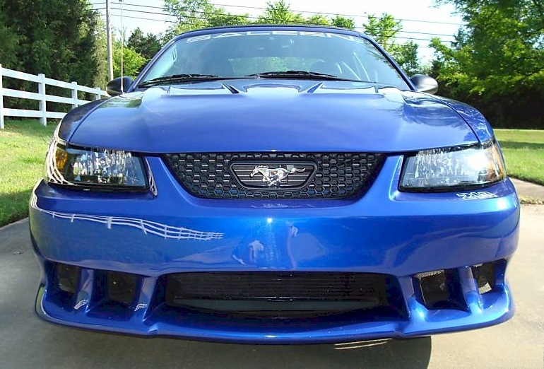 sonic blue 2004 saleen s281 sc ford mustang convertible photo detail. Black Bedroom Furniture Sets. Home Design Ideas