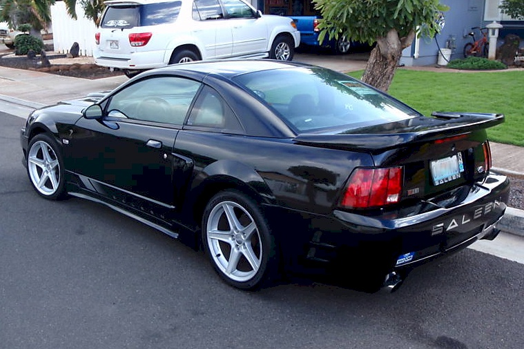 black 2004 saleen s281 ford mustang coupe photo detail. Black Bedroom Furniture Sets. Home Design Ideas