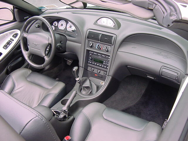 Dash 2004 Saleen S821 Supercharged Mustang Convertible