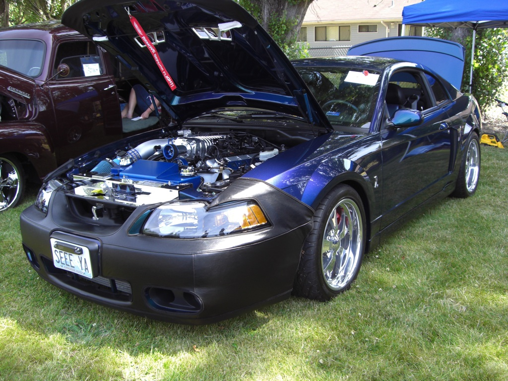 Mysti-Chrome 2004 Custom Mustang Cobra Coupe