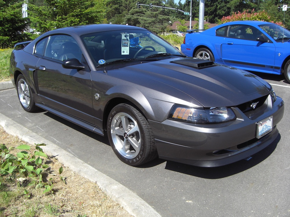 dark shadow gray 2004 mustang mach 1 coupe. Black Bedroom Furniture Sets. Home Design Ideas