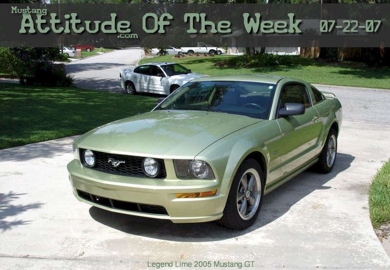 Legend Lime 2005 Ford Mustang - Paint Cross Reference