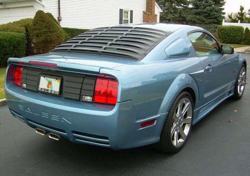 windveil blue 2005 saleen s281 sc ford mustang coupe photo detail. Black Bedroom Furniture Sets. Home Design Ideas
