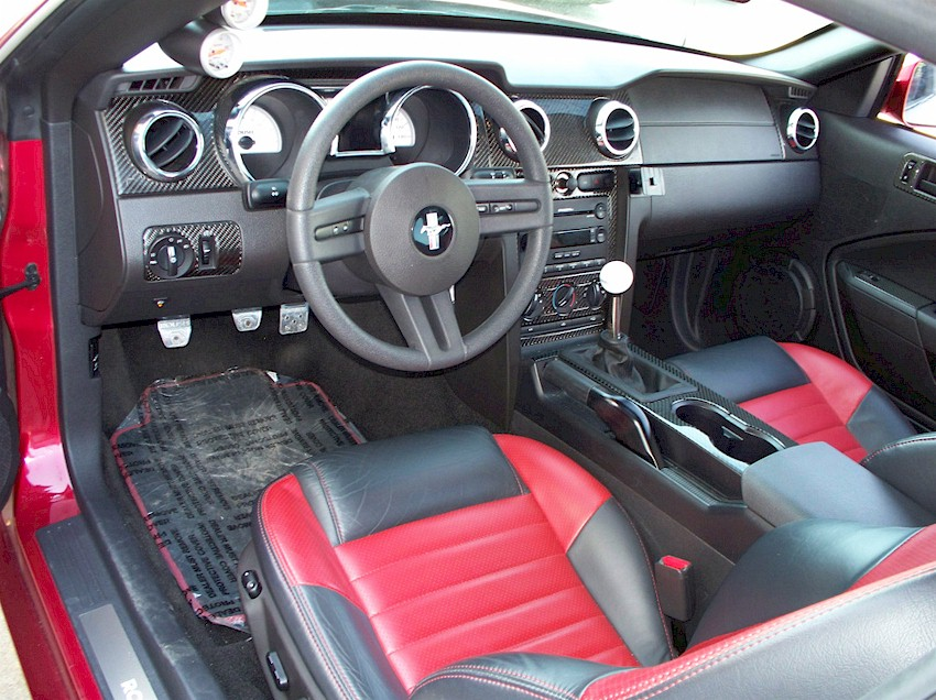 Roush Mustang Stage   Inside Car Stuff