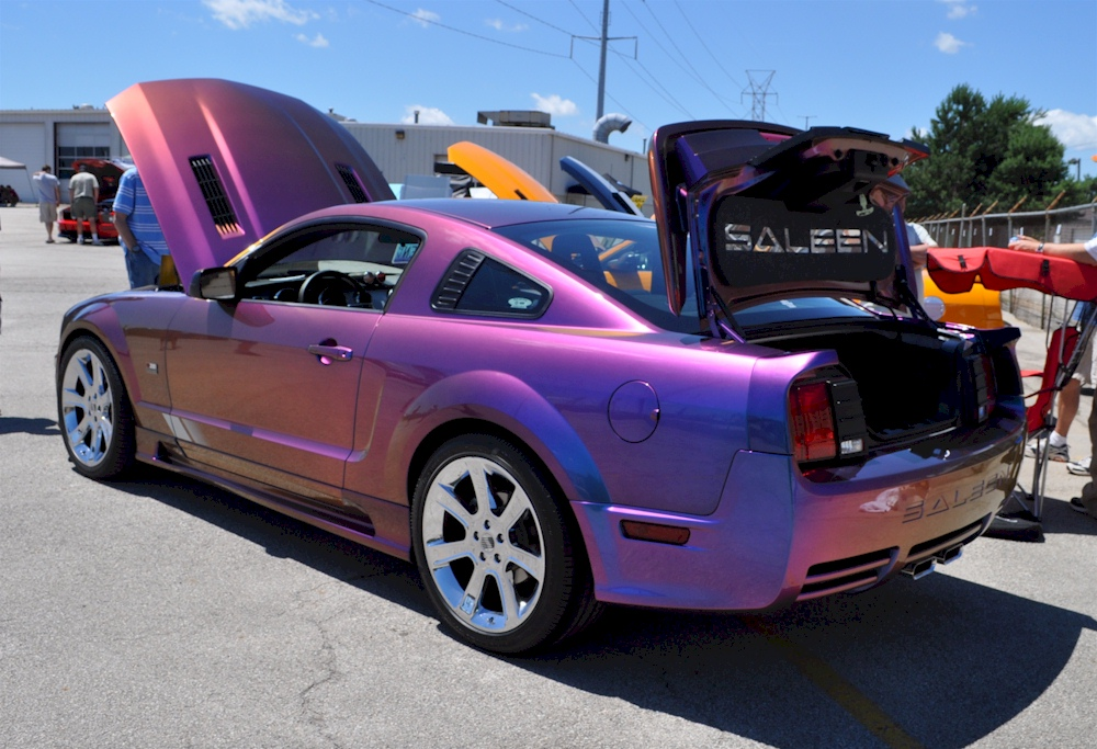 extreme rainbow 2005 saleen s281 sc ford mustang coupe. Black Bedroom Furniture Sets. Home Design Ideas