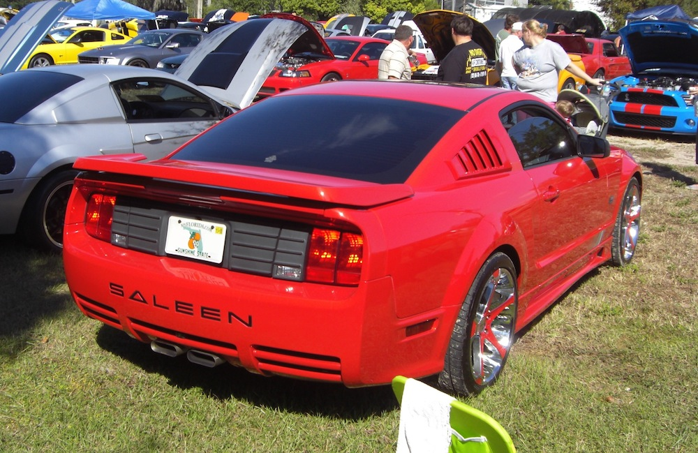 torch red 2005 saleen s281 sc ford mustang coupe photo detail. Black Bedroom Furniture Sets. Home Design Ideas
