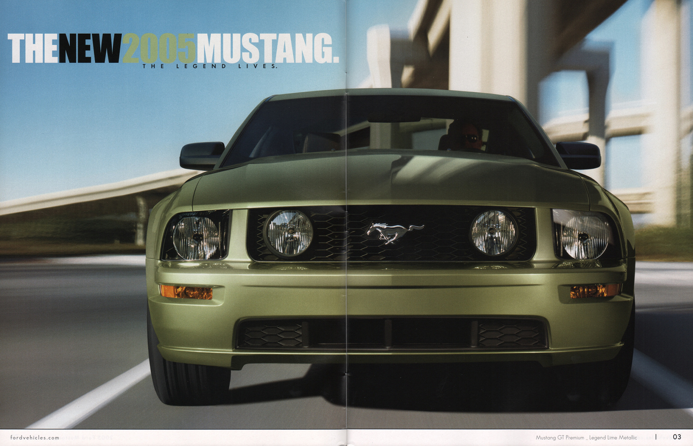 Legend Lime 2005 Mustang GT