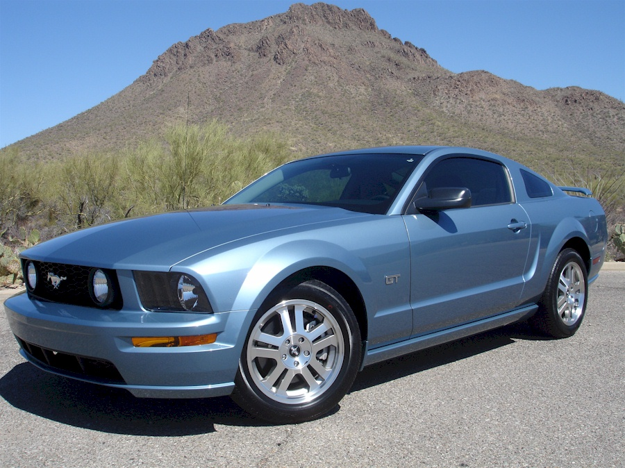 Windveil Blue 2006 Ford Mustang Gt Coupe Mustangattitude