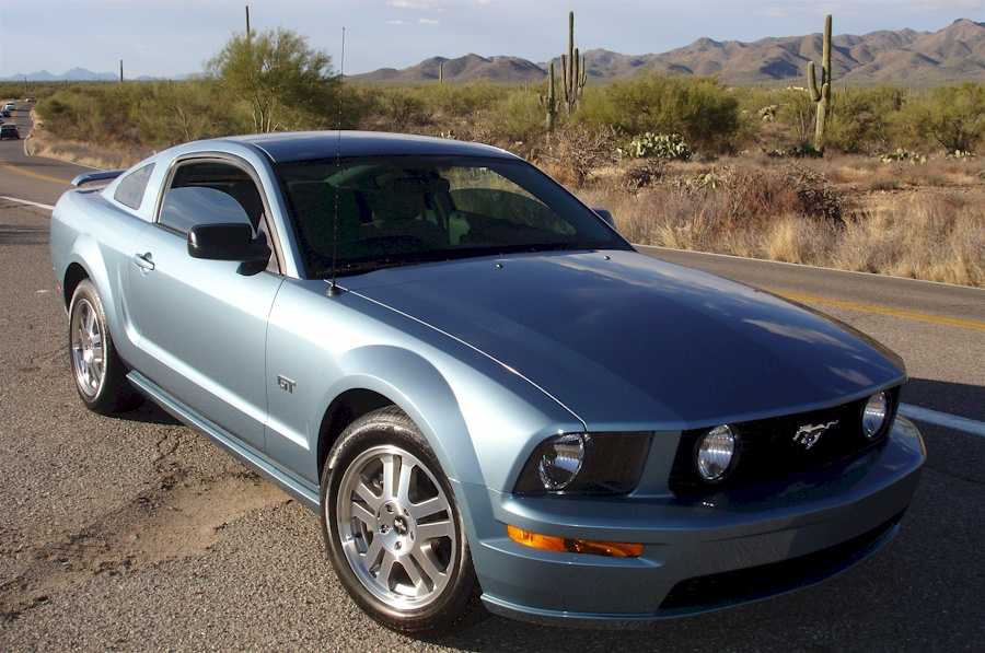 Windveil Blue 06 Mustang GT