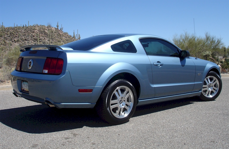 Windveil Blue 2006 Mustang GT