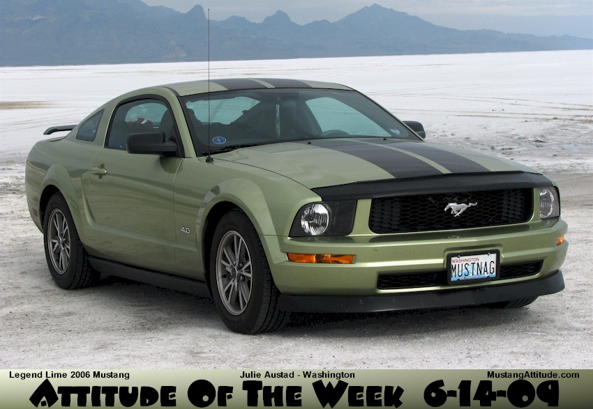 Legend Lime 2006 Mustang