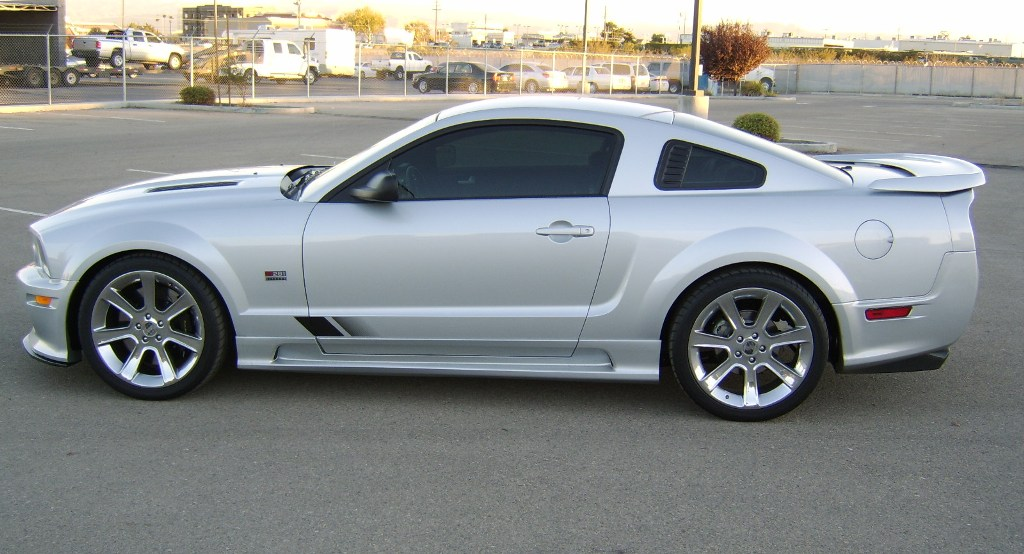 Satin Silver 2006 Mustang Saleen S281 Coupe