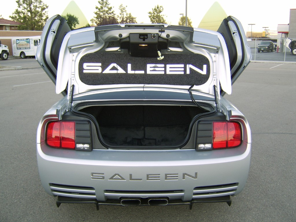 Satin Silver 2006 Saleen S281SC Ford Mustang Coupe
