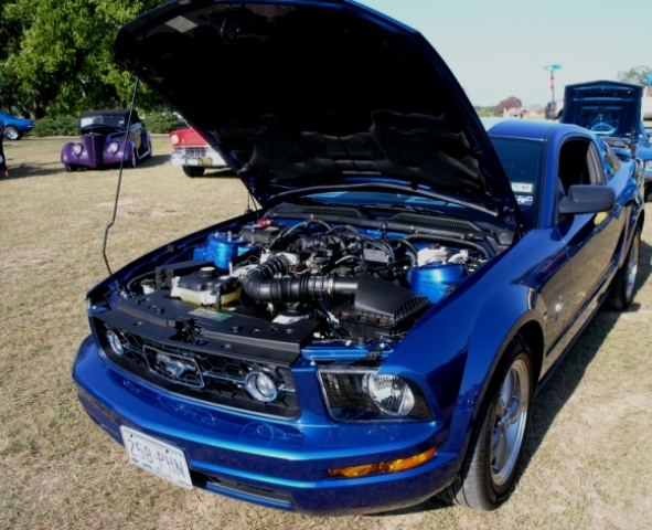 Vista Blue 2006 Ford Mustang Stampede Edition Coupe