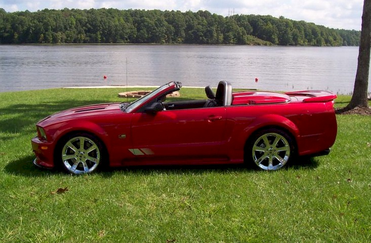 lizstick red 2006 saleen s281 e ford mustang convertible photo detail. Black Bedroom Furniture Sets. Home Design Ideas