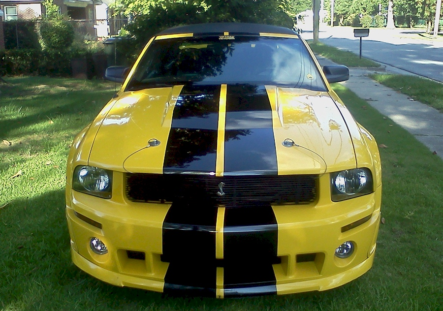 Screaming Yellow 2006 Mustang GT Convertible