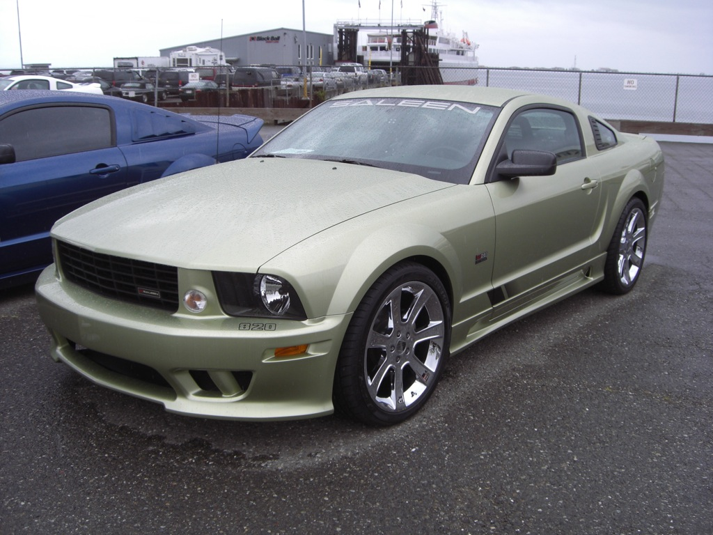 Legend Lime 2006 Saleen S281 Ford Mustang Coupe