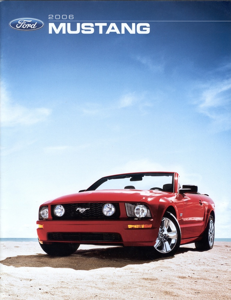 2006 Ford Mustang Promotional Brochure