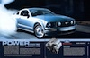 Page 4 & 5: 2006 Ford Mustang Promotional Brochure