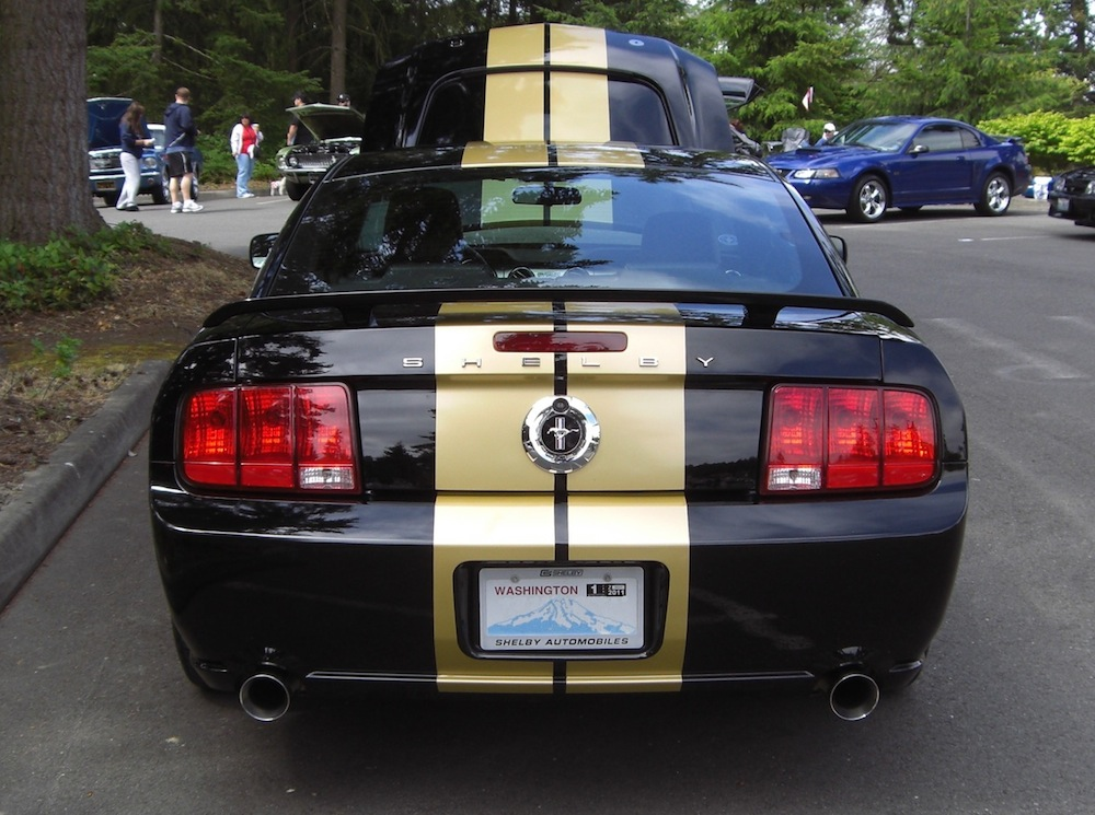 Black 06 Mustang Shelby Gt H Coupe