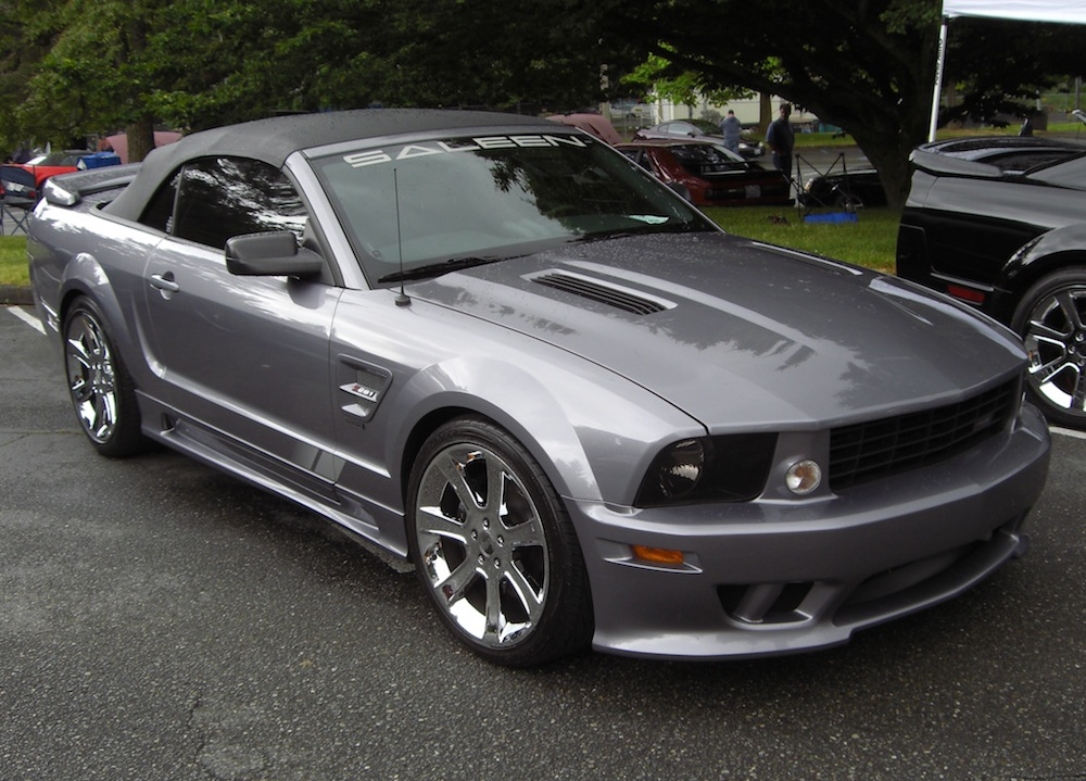 Tungsten Gray 2006 Mustang Saleen S281 Speedster Convertible