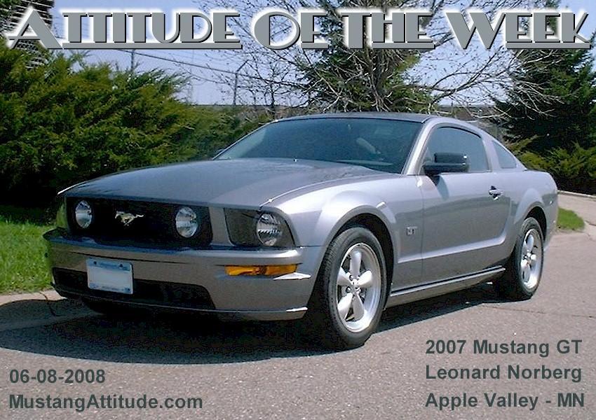 Tungsten Gray 2007 Ford Mustang