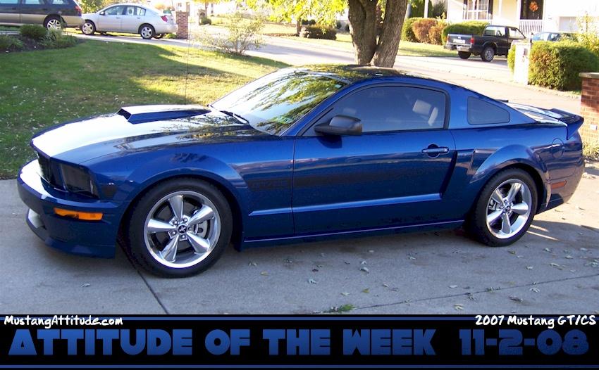 2007 Mustang Gt Cs