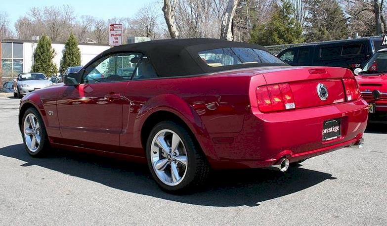 Redfire 2007 Mustang Gt Convertible