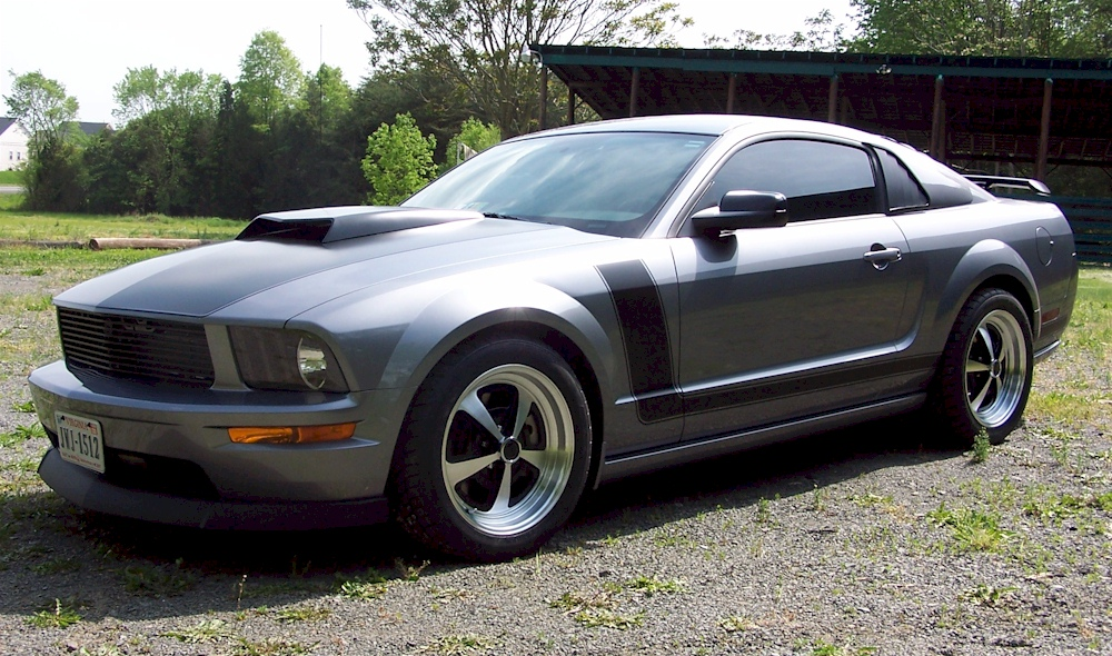 Tungsten Gray 2007 Ford Mustang Gt Coupe Mustangattitude