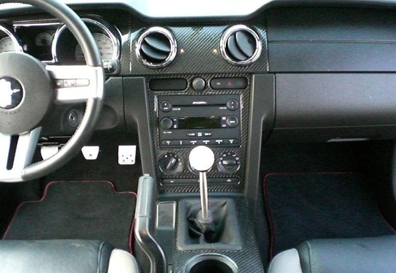 2007 Alloy Roush Mustang Interior