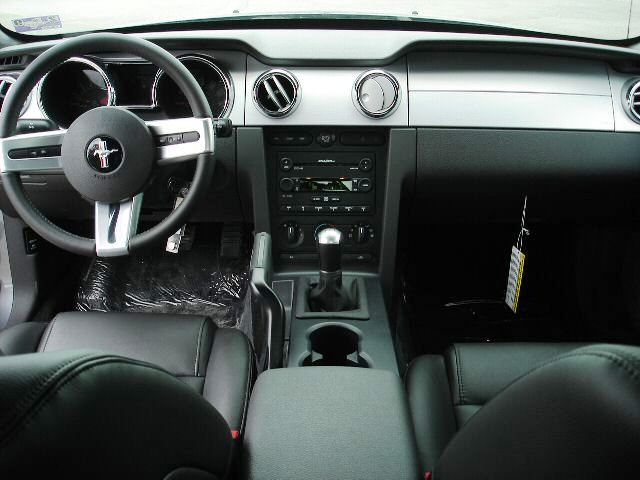 Superior 2007 Tungsten Gray Mustang Interior View Amazing Design