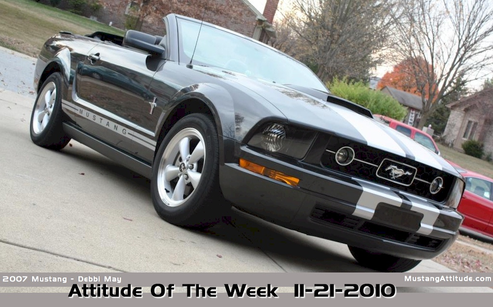 Alloy 2007 Mustang Convertible