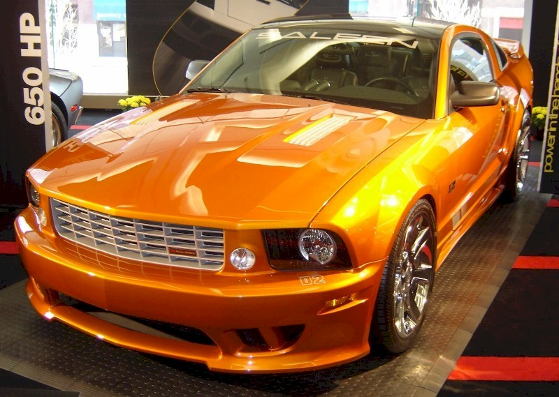 beryllium orange 2007 saleen s281 e ford mustang coupe. Black Bedroom Furniture Sets. Home Design Ideas