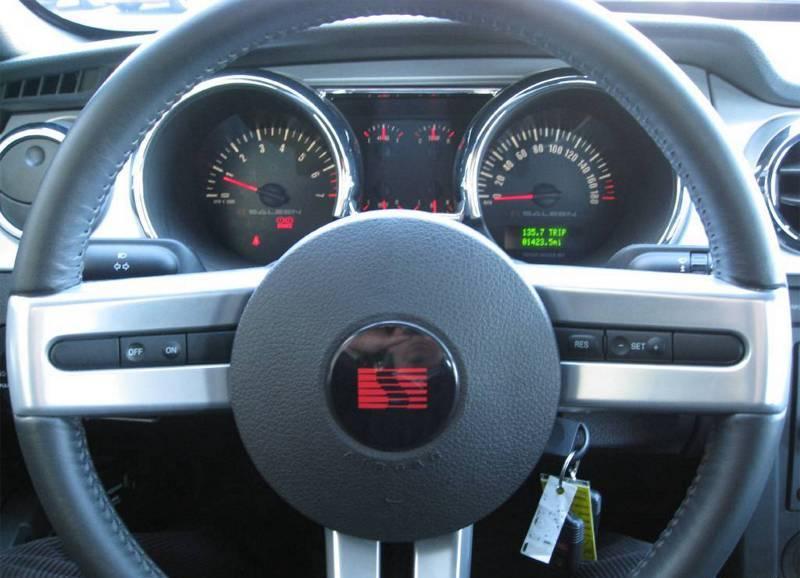 Dash 2007 Mustang En H281 Coupe