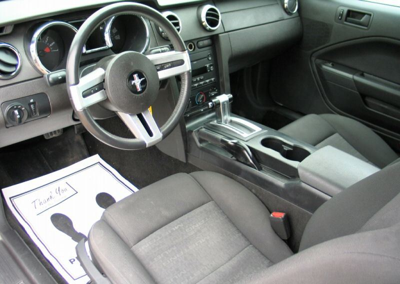 Interior 2007 Mustang Coupe Gallery